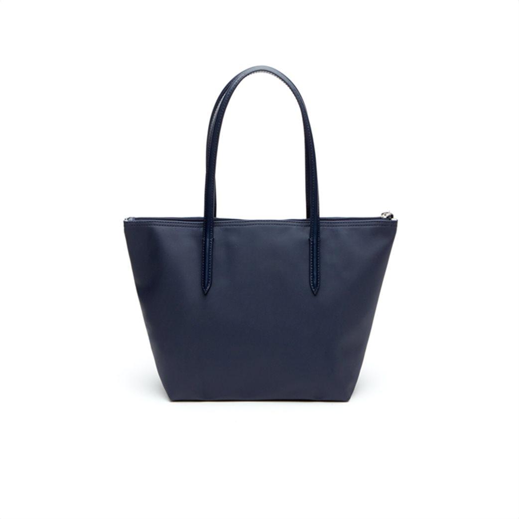 "Lacoste γυναικεία τσάντα ώμου ""Concept Small Zip Tote"" Μπλε Σκούρο 2"