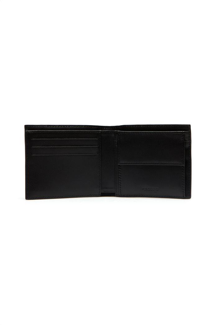 "Lacoste ανδρικό πορτοφόλι ""FG billfold"" Μπλε Σκούρο 1"