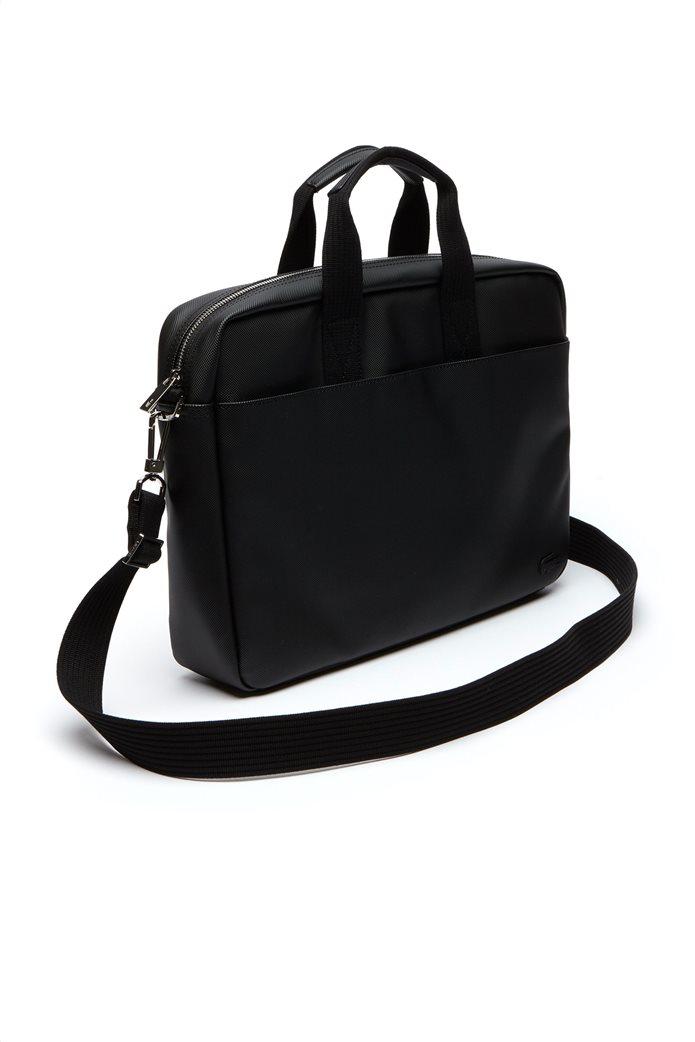 Aνδρική τσάντα Classic Petit Piqué Computer Bag Lacoste 2