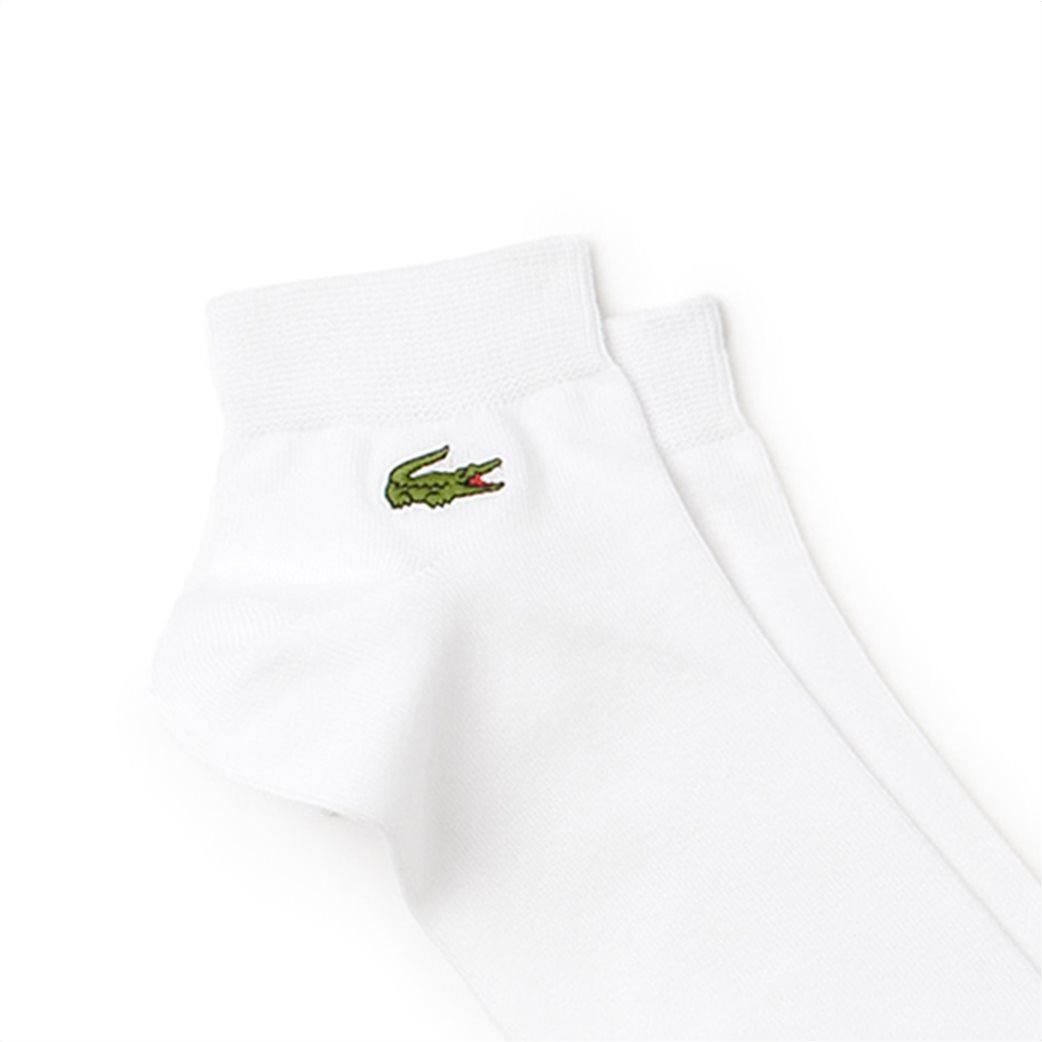 Ανδρικές κάλτσες αόρατες σετ (3 τεμάχια) Lacoste Λευκό 1