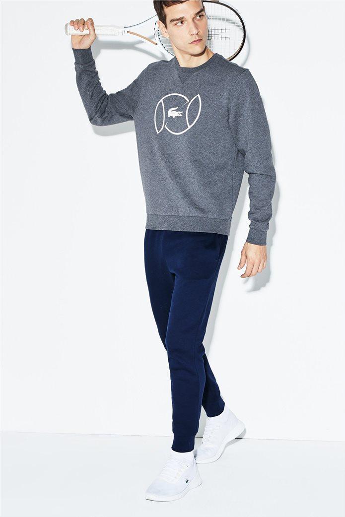 Lacoste ανδρικό παντελόνι φόρμας μονόχρωμο 1