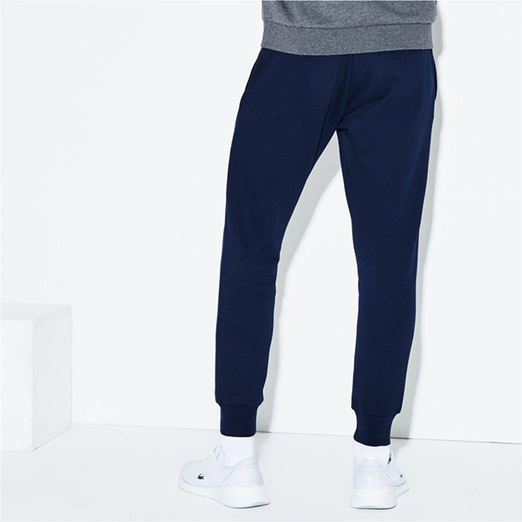 Lacoste ανδρικό παντελόνι φόρμας μονόχρωμο 3