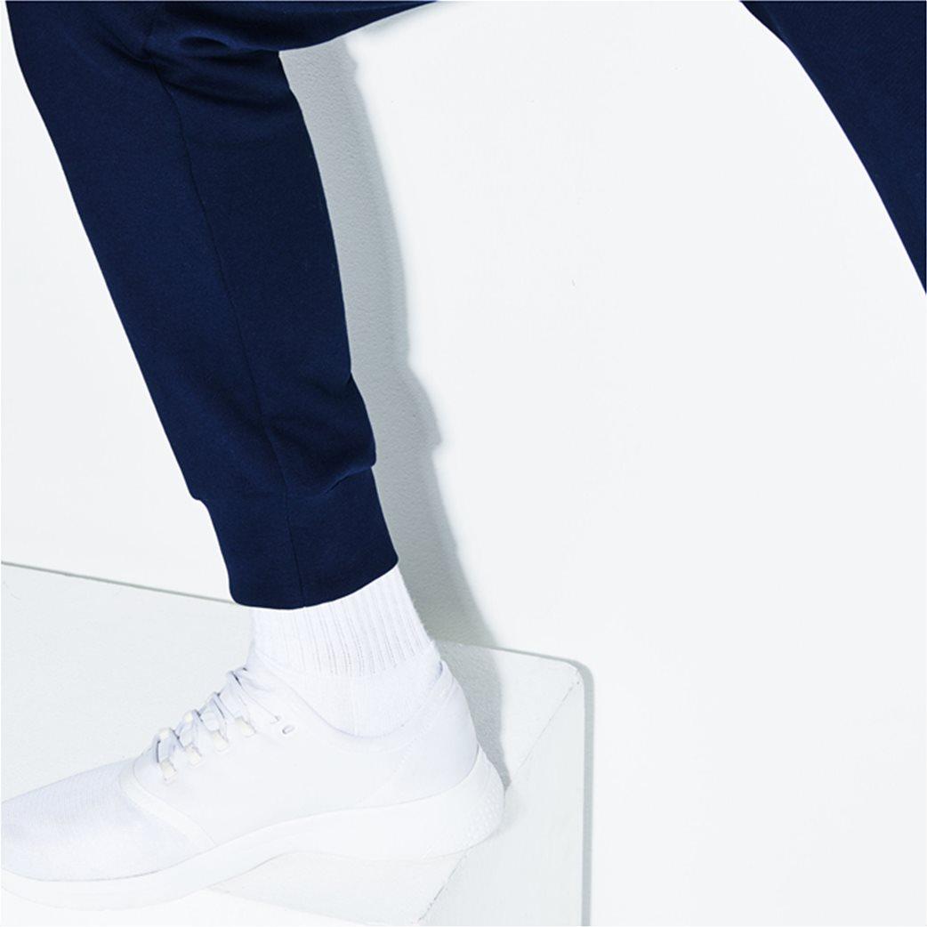 Lacoste ανδρικό παντελόνι φόρμας μονόχρωμο 5