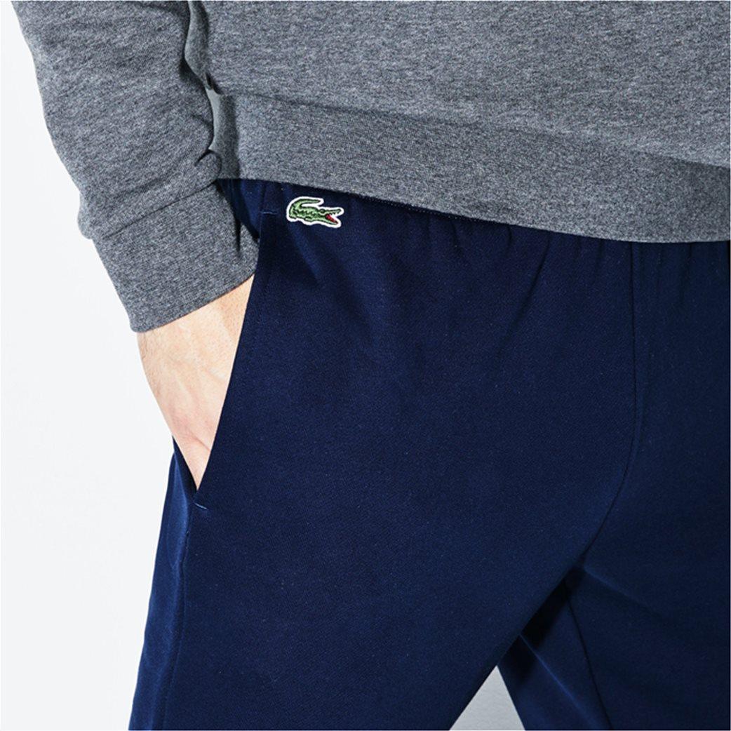 Lacoste ανδρικό παντελόνι φόρμας μονόχρωμο 7