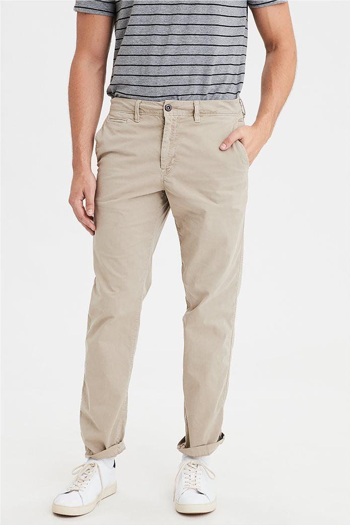 AE Ne(X)t Level Original Straight Khaki Pant Εκρού 0