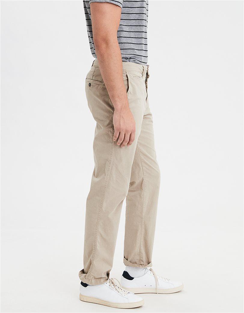 AE Ne(X)t Level Original Straight Khaki Pant Εκρού 1