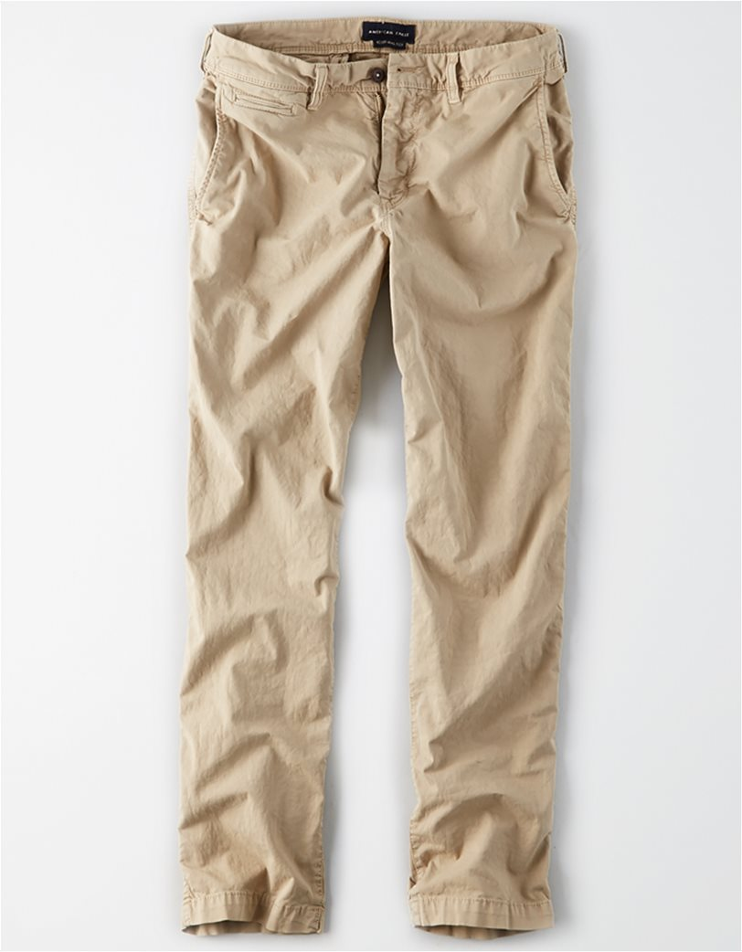 AE Ne(X)t Level Original Straight Khaki Pant Εκρού 3