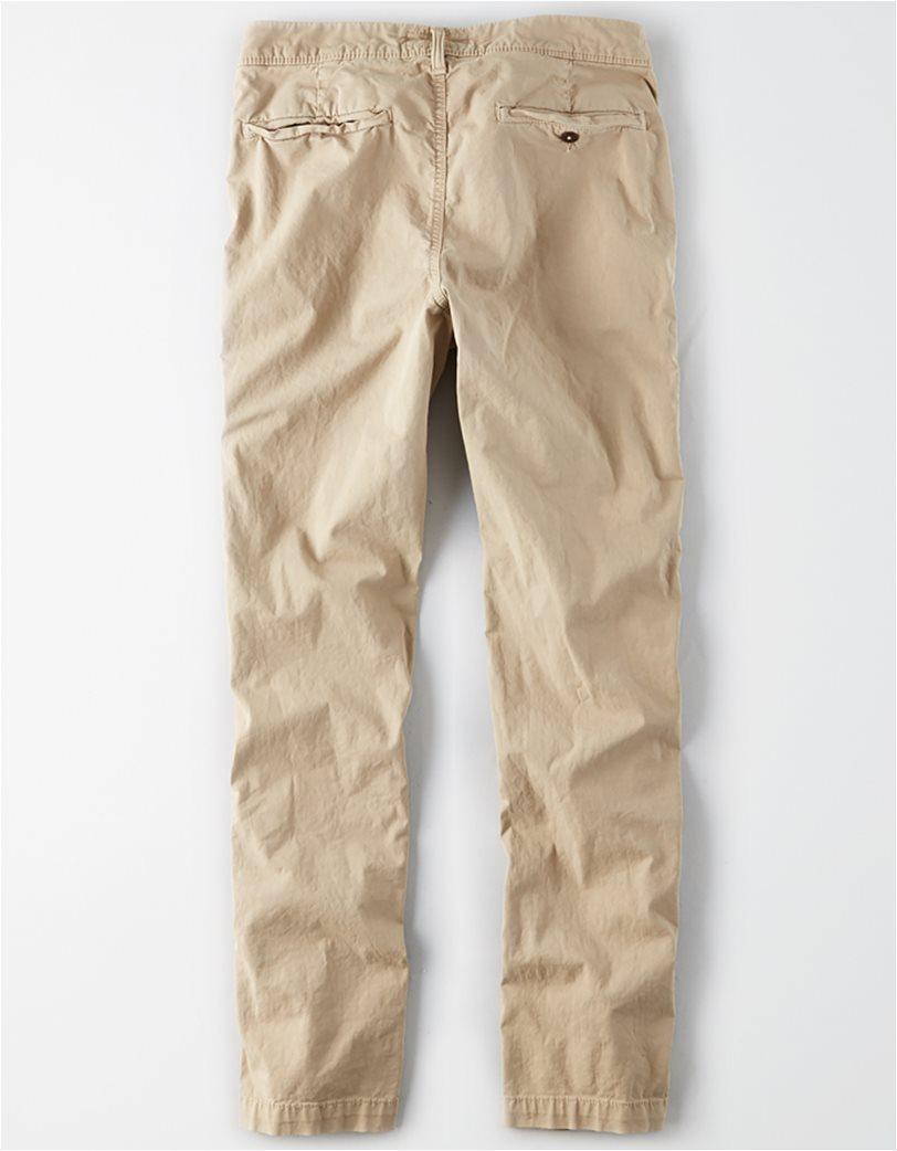 AE Ne(X)t Level Original Straight Khaki Pant Εκρού 4