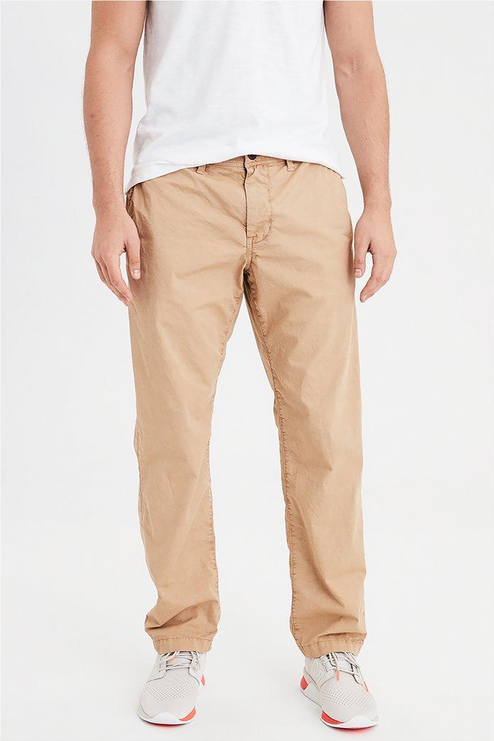 AE Ne(X)t Level Slim Straight Khaki Pant Εκρού 0