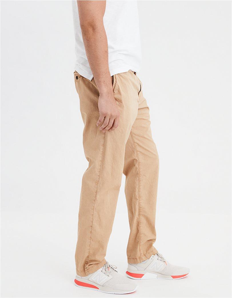 AE Ne(X)t Level Slim Straight Khaki Pant Εκρού 1