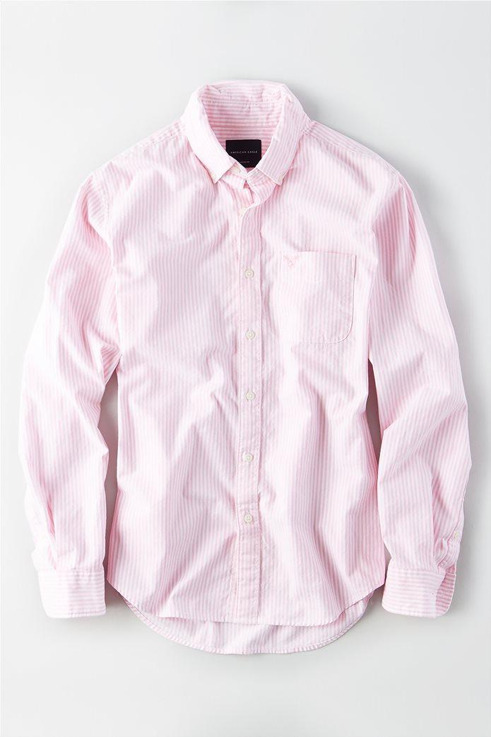 AE Long Sleeve Button Down Shirt 0