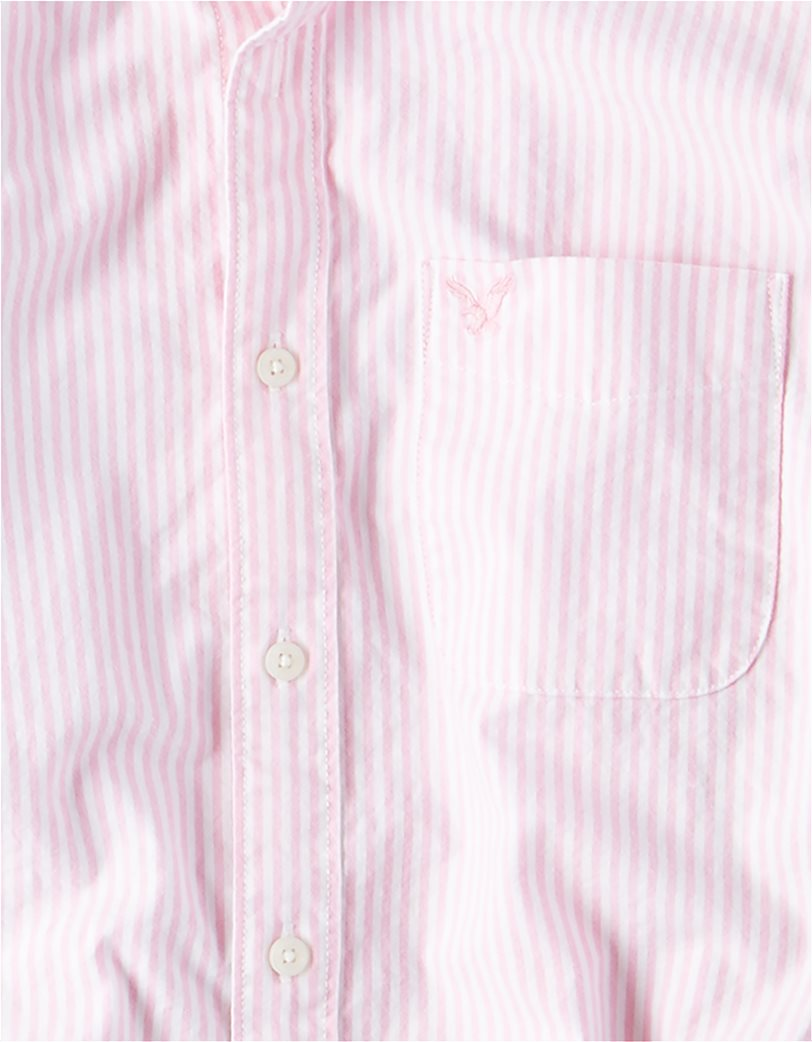 AE Long Sleeve Button Down Shirt 2