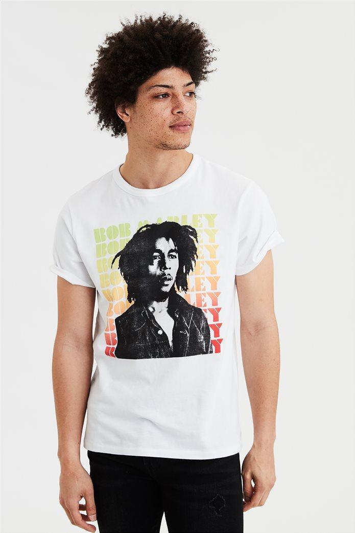 AE Bob Marley Graphic Tee 0