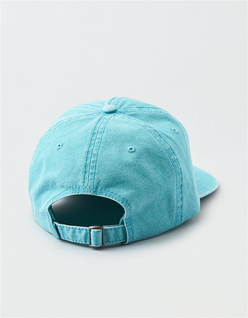 AEO Teal Canvas Baseball Hat 1