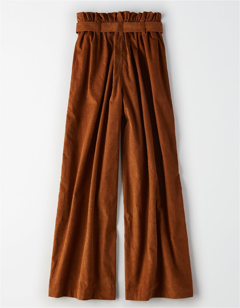 AE High-Waisted Paperbag Wide Leg Pant 1