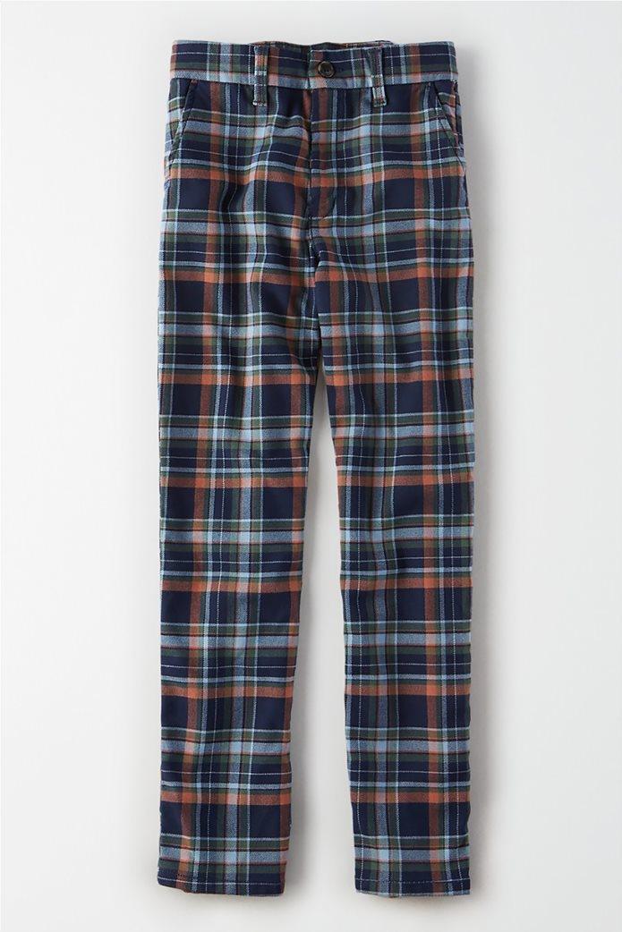 AE Super High-Waisted Plaid Skinny Pant 0