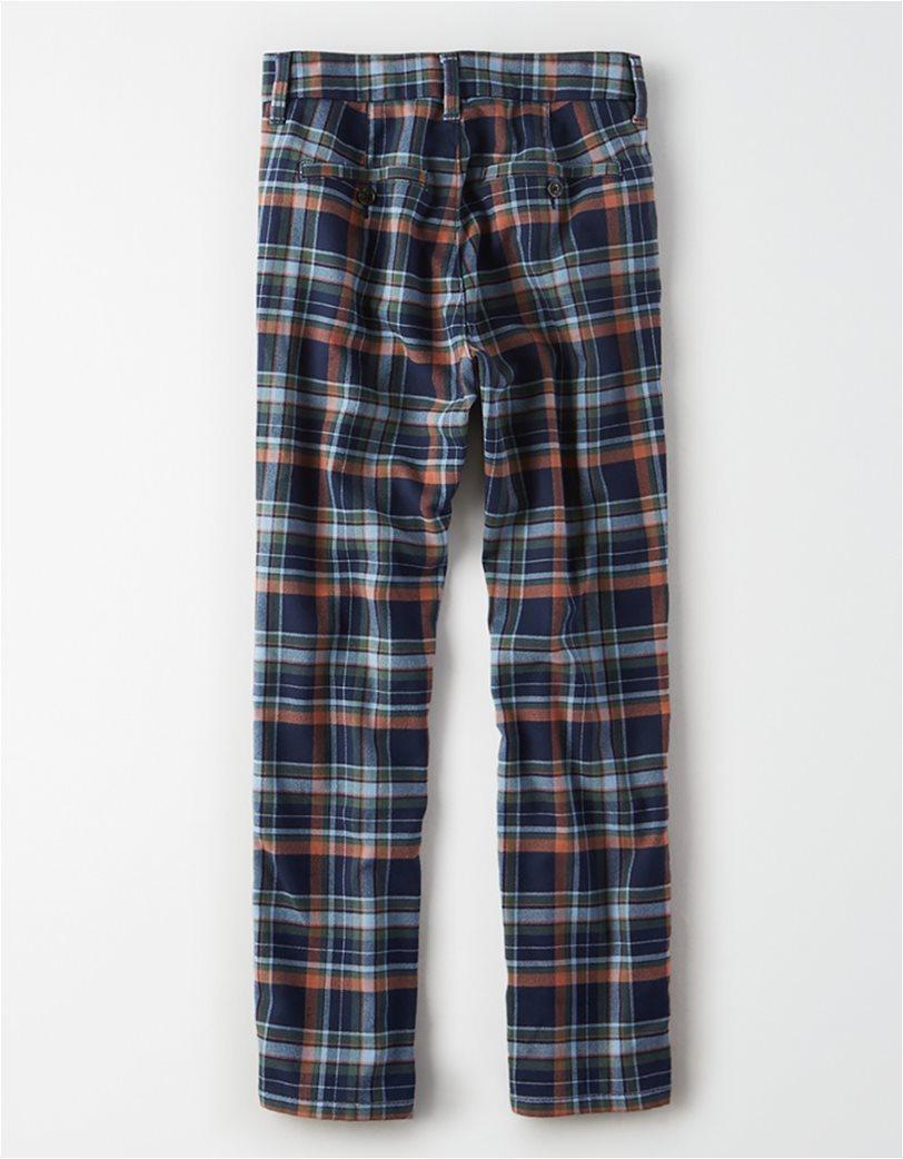 AE Super High-Waisted Plaid Skinny Pant 1