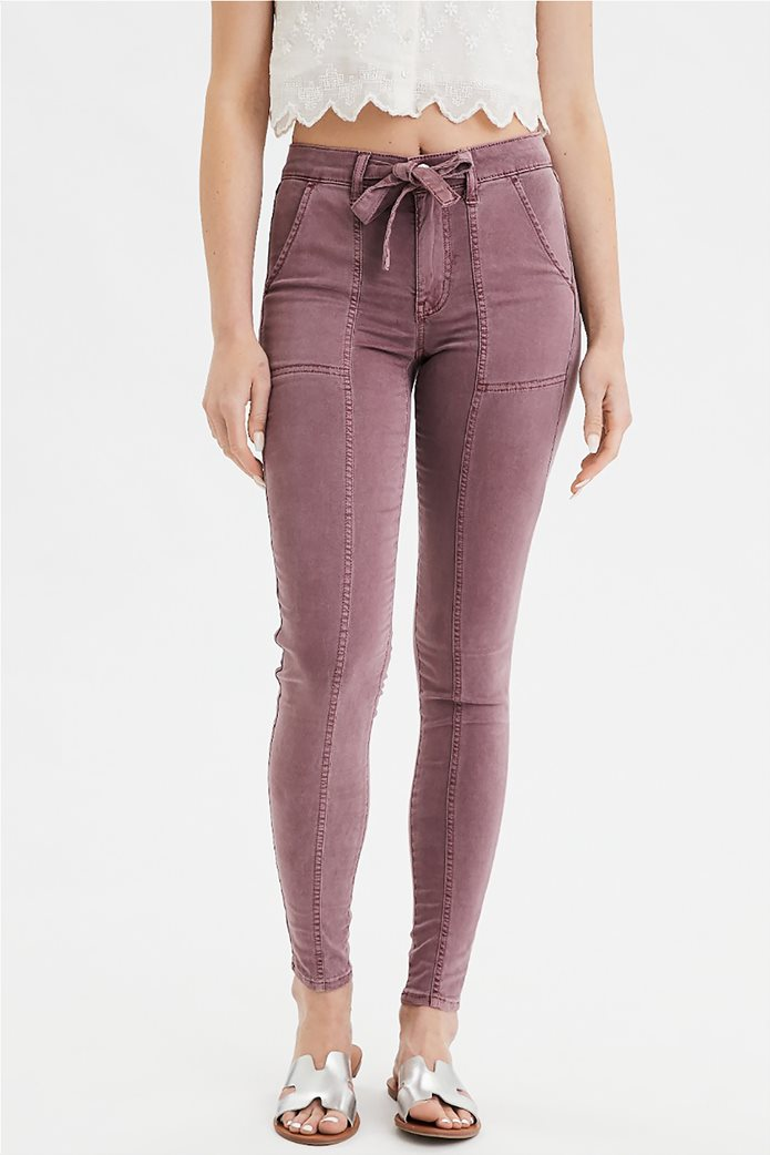 High-Waisted Jegging 0