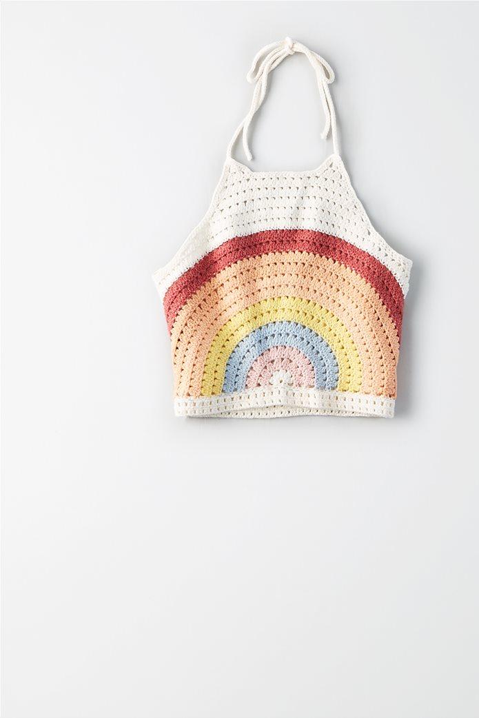 AE Crochet Rainbow Halter Top 2