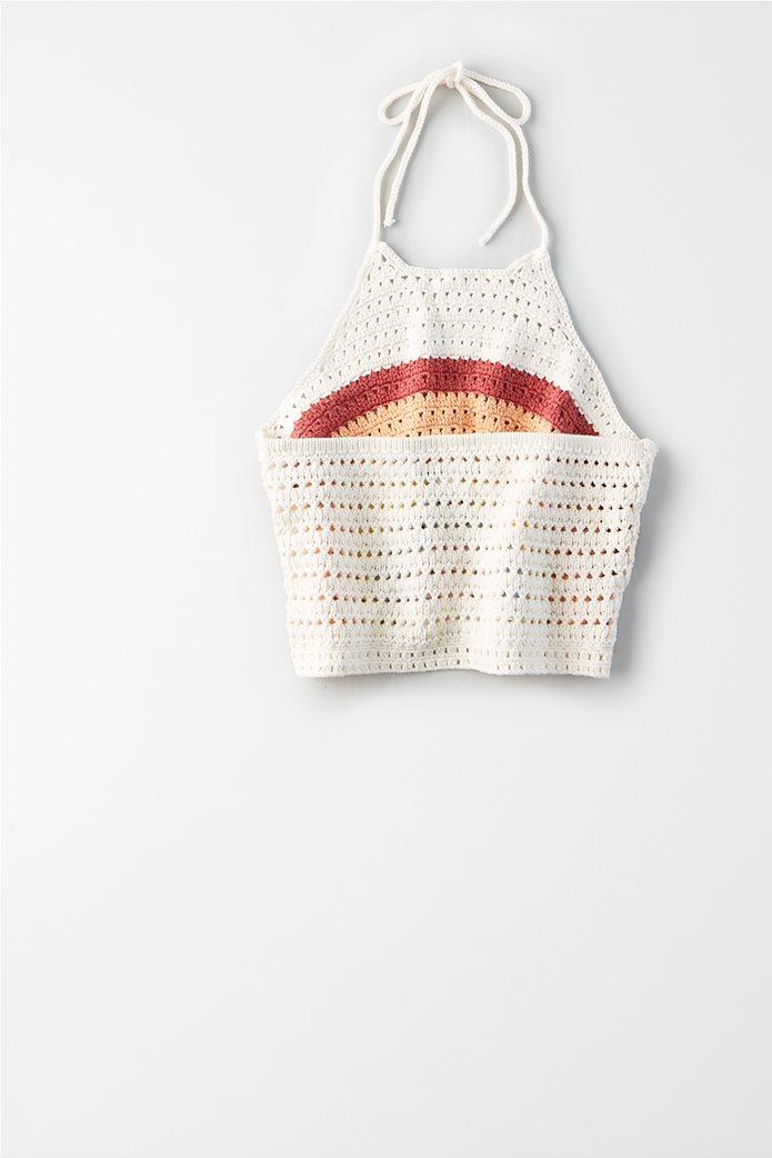AE Crochet Rainbow Halter Top 3