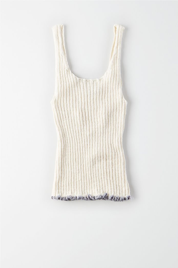 AE Ribbed Cropped Sweater Tank top 0