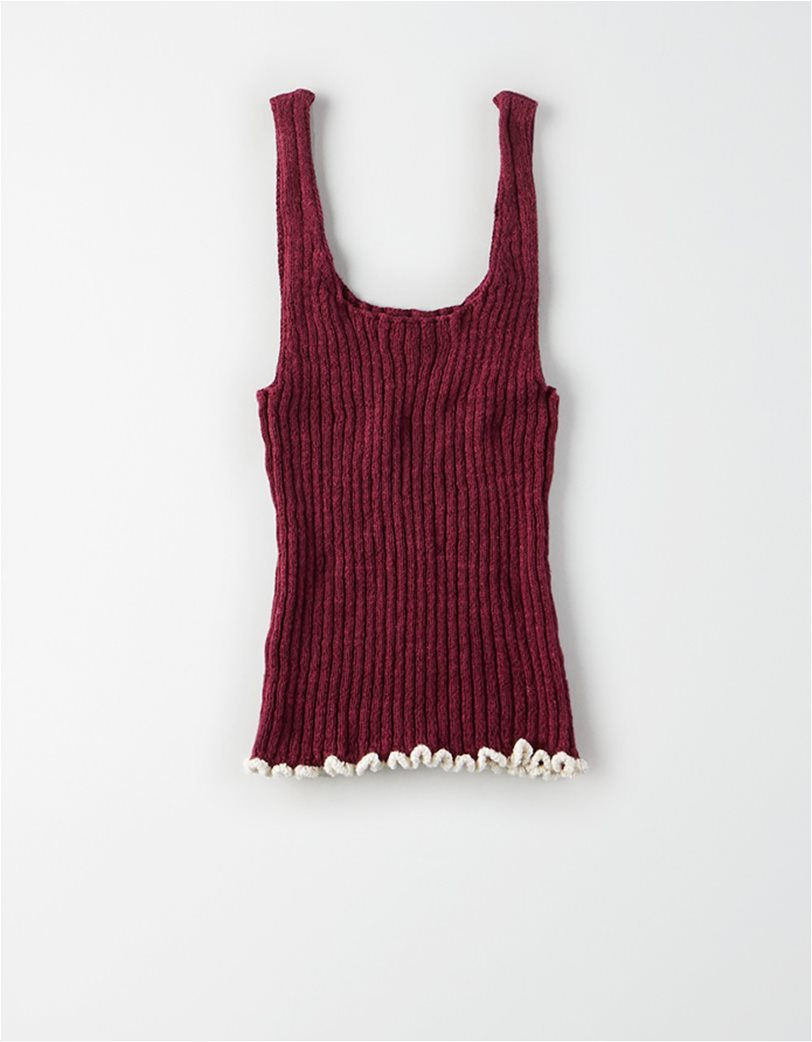 AE Ribbed Cropped Sweater Tank top 1