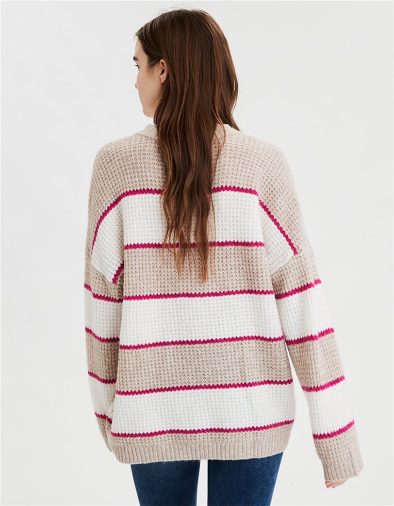 AE Striped Oversized Sweater 1