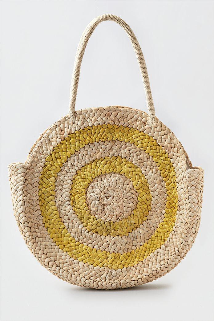 AEO Larger Round Straw Bag 0