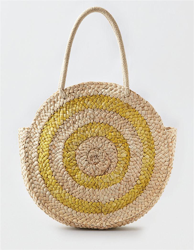 AEO Larger Round Straw Bag 1