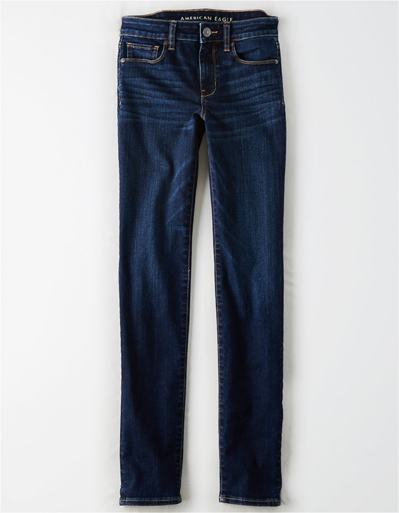 AE Ne(X)t Level Skinny Jean Μπλε Σκούρο 3