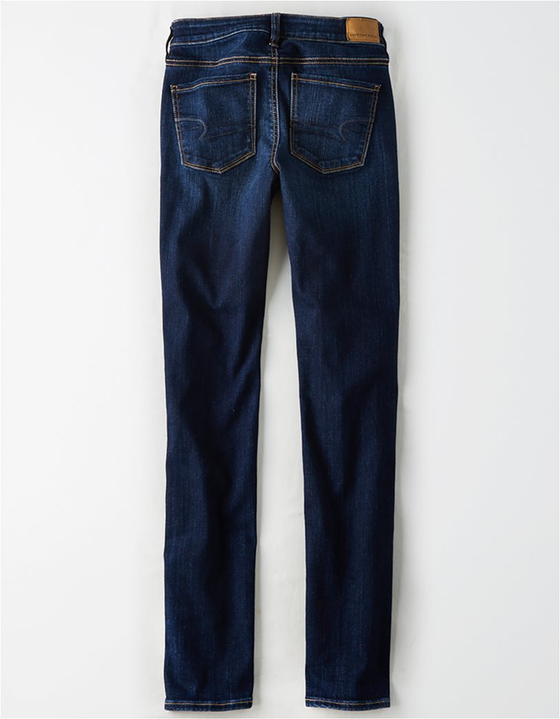AE Ne(X)t Level Skinny Jean Μπλε Σκούρο 5