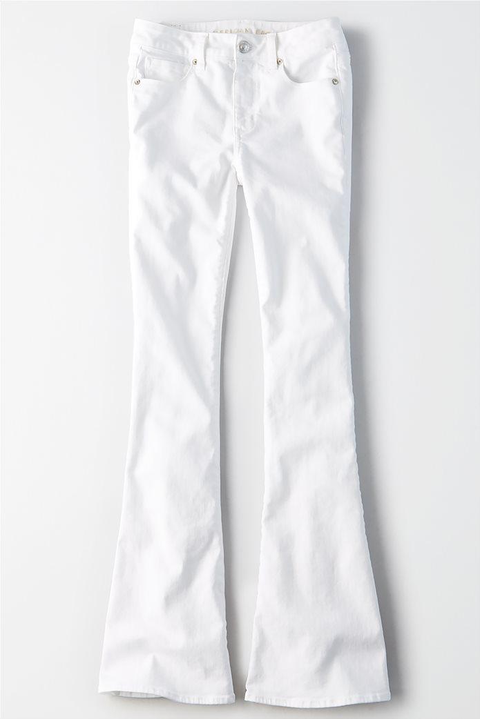 AEO Denim X Hi_Rise Slim Flare Jean 0