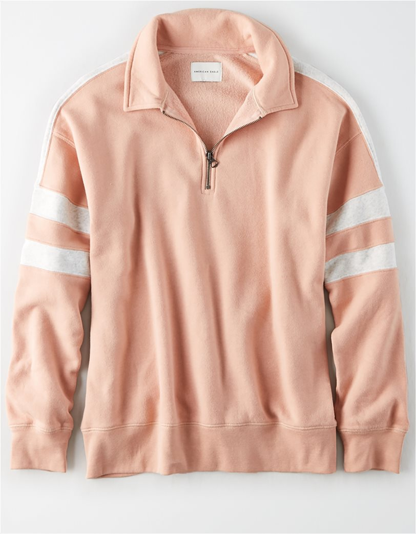 AE Fleece Quarter Zip Sweatshirt 2