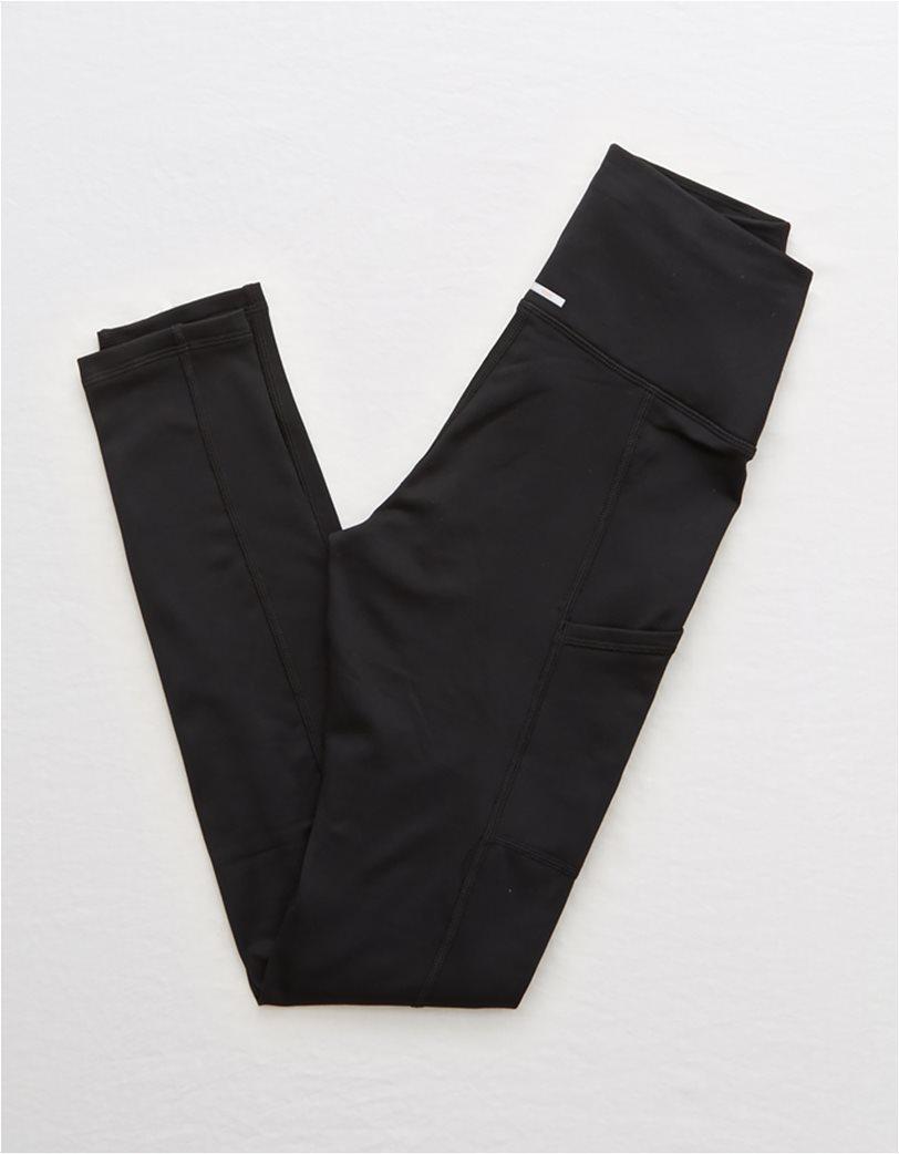 Aerie Play High Waisted Pocket Legging Μαύρο 3