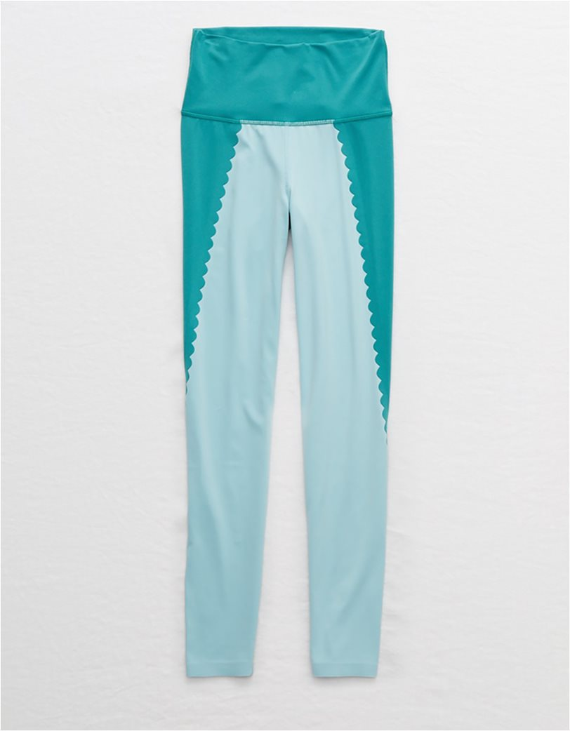 Aerie Play Scallop High Waisted 7/8 Legging 3