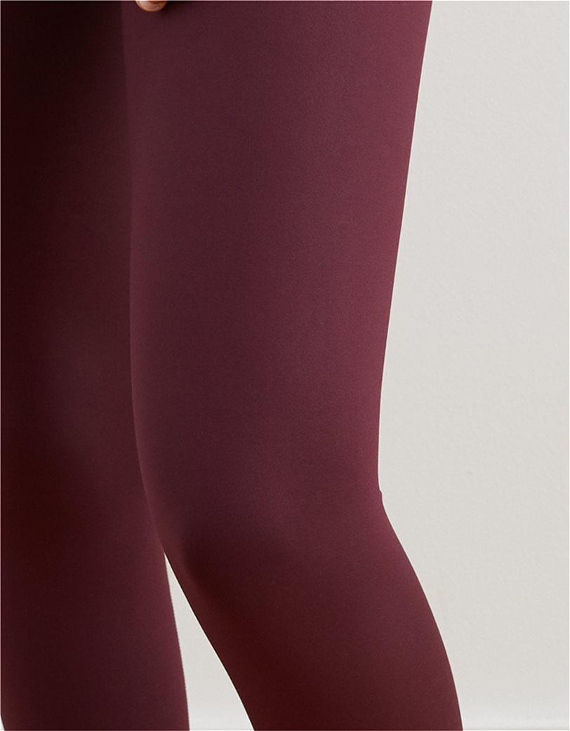 Aerie Play Shine Legging Μπορντό 2