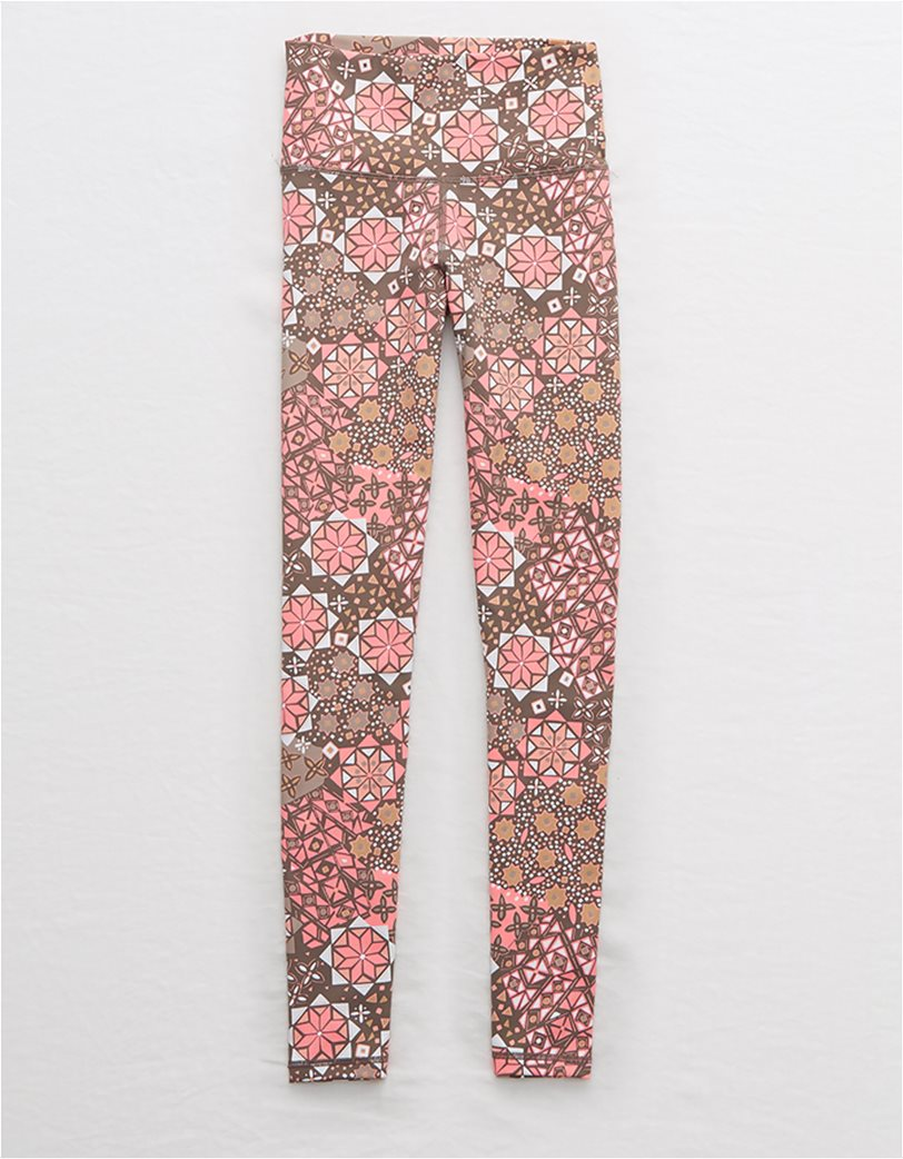 Aerie Move Printed High Waisted 7/8 Legging 3