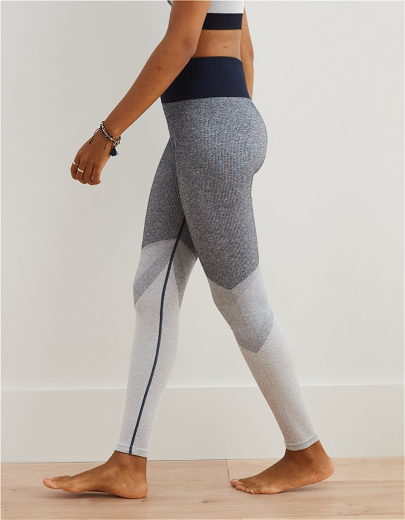 Aerie Move Color Block High Waisted 7/8 Legging 1