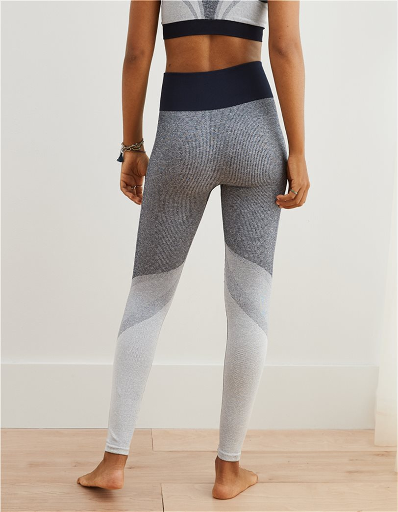 Aerie Move Color Block High Waisted 7/8 Legging 2