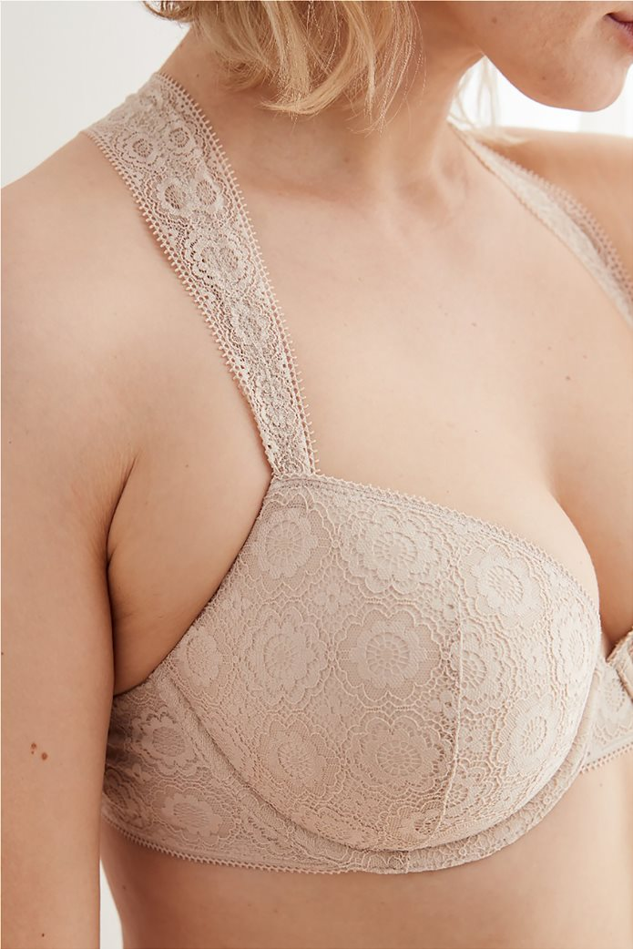 Aerie Real Happy Lightly Lined Bra Nude 0