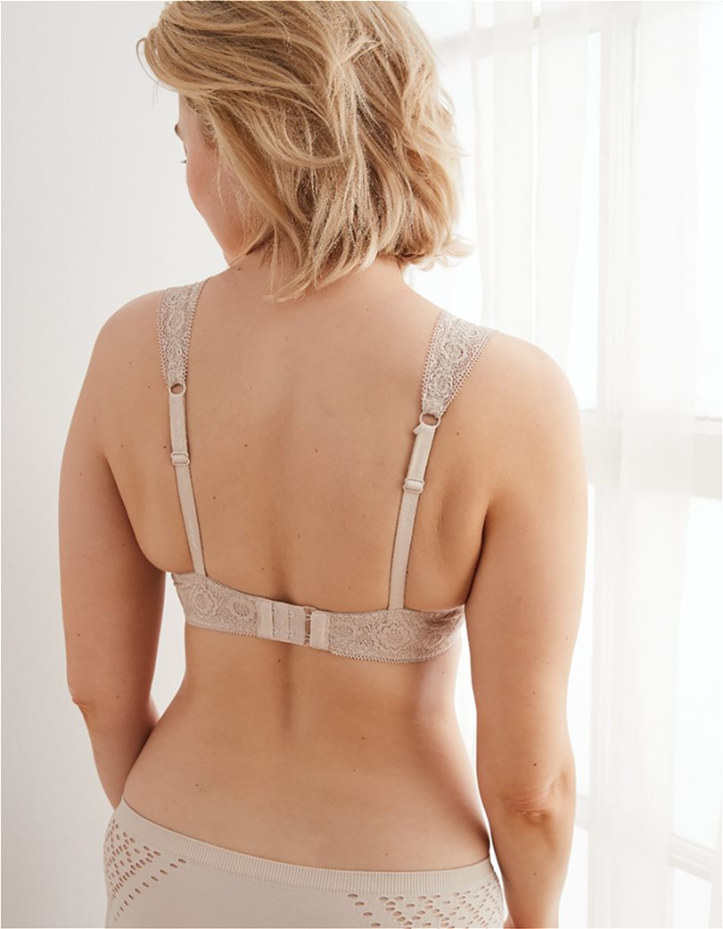 Aerie Real Happy Lightly Lined Bra Nude 1