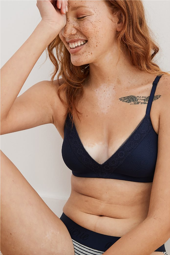 Aerie Real Happy Wireless Lightly Lined Bra 0