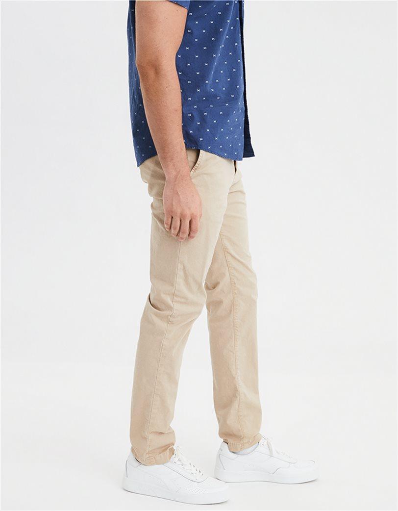 AE Ne(X)t Level Slim Khaki Pant Εκρού 1