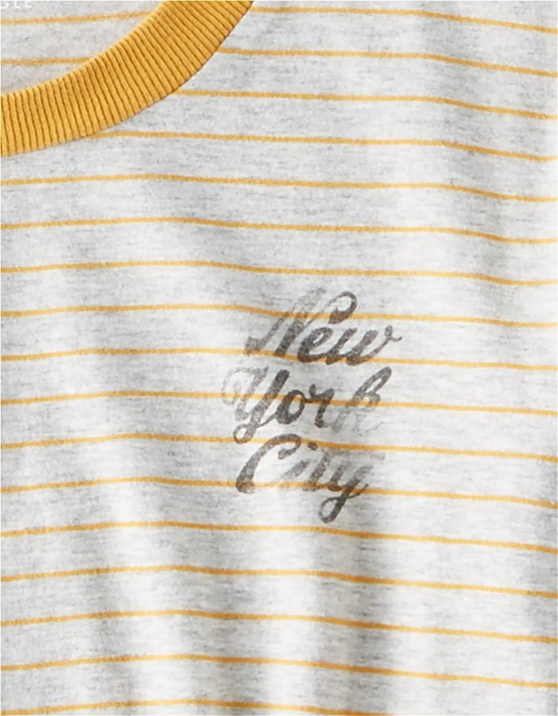 AE Striped NYC Champs Graphic T-Shirt 3