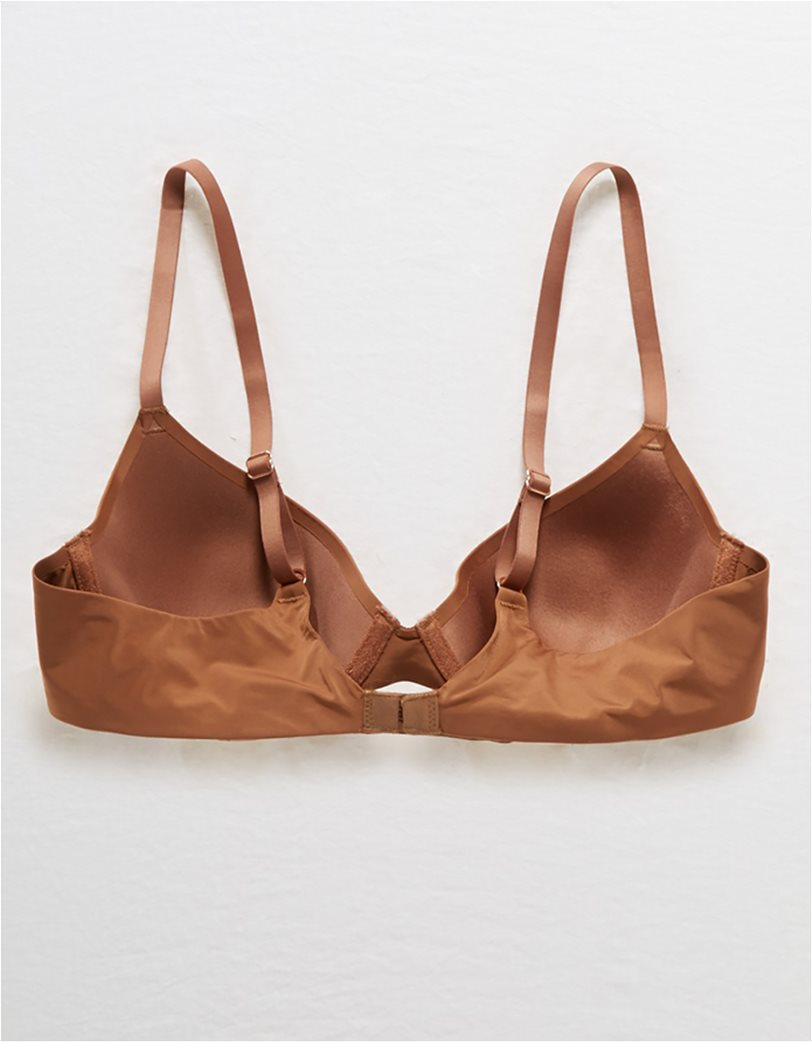 Real Me Full Coverage Lightly Lined Bra Καφέ 4