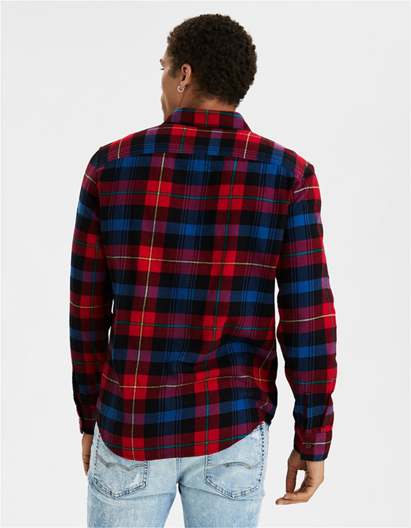 AE Seriously Soft Flannel Shirt 1