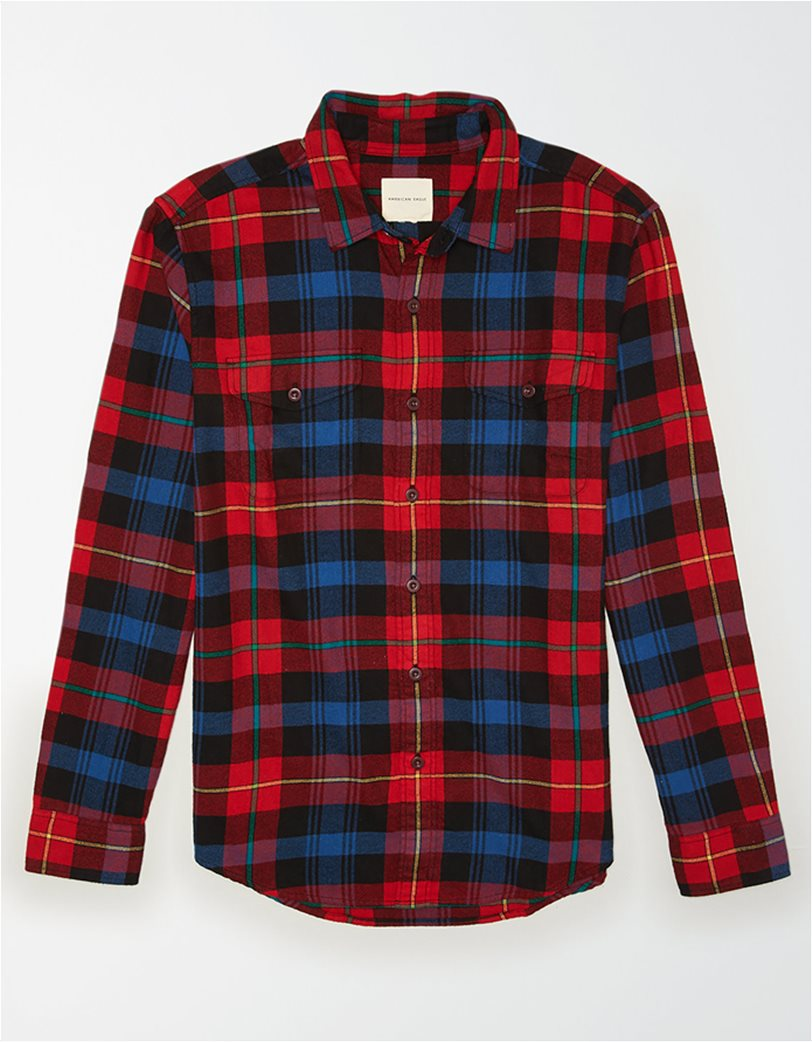 AE Seriously Soft Flannel Shirt 2