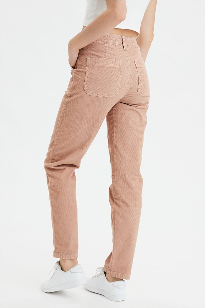 High-Waisted Corduroy Utility Pant 1