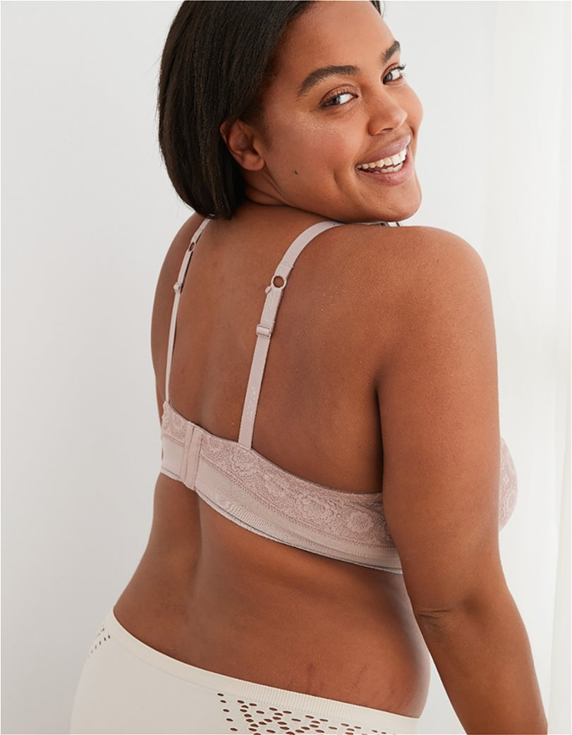 Aerie Real Happy Full Coverage Lightly Lined Bra Nude 1