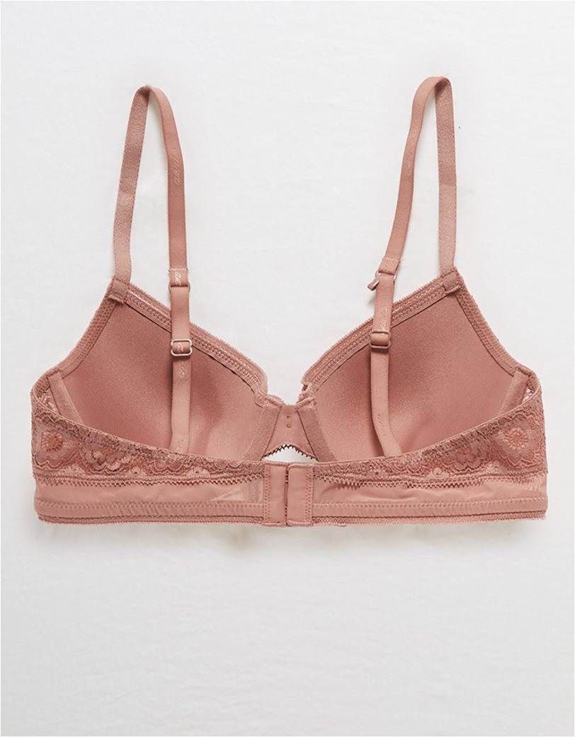 Aerie Real Happy Full Coverage Lightly Lined Bra Κεραμιδί 4